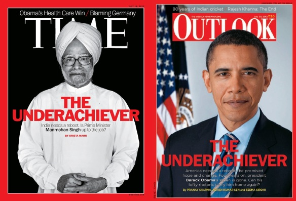 Singh and Obama.