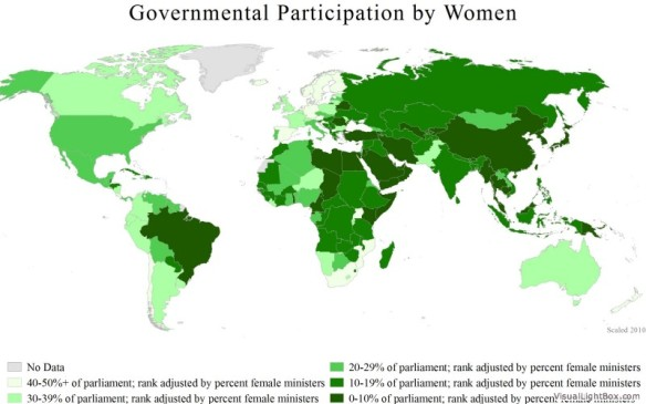 Government Participation by Women (womenstats.org)